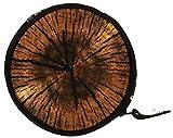 Porte-Monnaie Rond Multicolore Garçons Filles Petit Porte-Monnaie Emoji Femme Homme Unisex Sachet Clés Bois Wood [041]