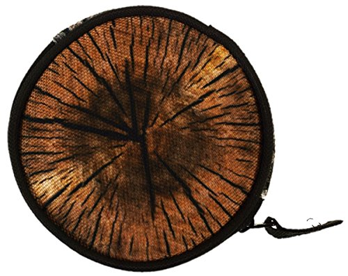 dbörse mit Reißverschluss Taschenorganizer Münzbörse Holz Wood [041] ()