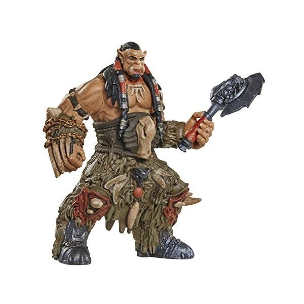 Warcraft Mini Figure Durotan & Alliance Soldier Action Figures (2 Pack) by Warcraft 2