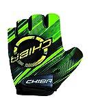 Chiba Kids Kinder Fahrrad Handschuhe Kurz Grün 2017: Größe: S (4)
