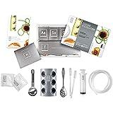 Kit Coffret de Cuisine Moléculaire - 20 sachets additifs - 9 accessoires - DVD de 50 recettes