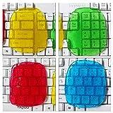 MQFORU Tastaturreiniger, Reinigungsgel, klebriger Gel-Staub-Reinigungsgel, für Gitarre, Tastatur, Computer, Auto, Laptop, Cyber Putty Super Silikagel, Gummi-Staub-Reiniger (4 Stück, zufällige Farbe)