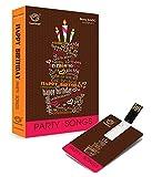 #8: Music Card: Happy Birthday Party Songs - USB (320 Kbps Mp3 Audio) (4GB)