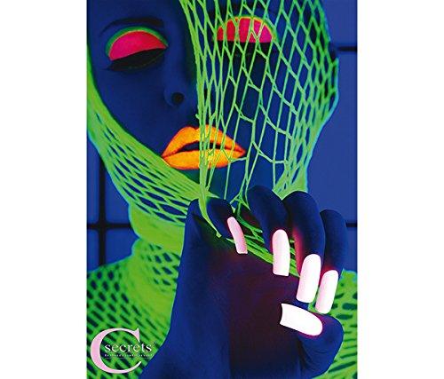 Cesars Poster (Spider Girl Neon) Neon-plakate