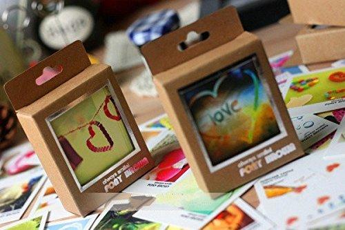 40pz Biglietti di auguri-scatola da 40 cartoline collezione TEMA AMORE