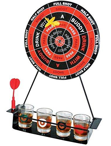 DARTS PARTY BEBED JUEGO CON SHOT GLASSES MAGNÉTIC DART BOARD PARTY JUEGO SET (Dart-stop)