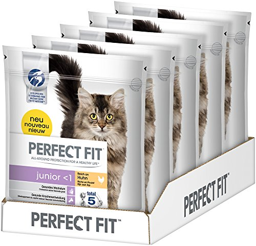 perfect-fit-katzenfutter-trockenfutter-kitten-junior-0-1-reich-an-huhn-5-beutel-5-x-750g