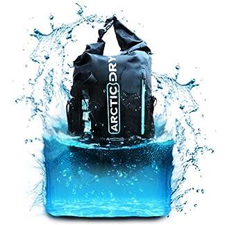 51WPaJRDJIL. SS324  - ArcticDry - Mochila Impermeable de 30 litros, Ideal para navegación, Kayak, Canoa, Vela, Deportes acuáticos, Snowboard, esquí, Senderismo, Trekking, Paddleboarding y Mucho más.
