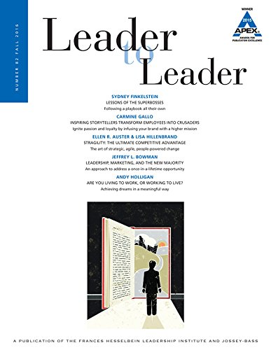 Leader to Leader (LTL), Volume 82, Fall 2016 (J-b Single Issue Leader to Leader)
