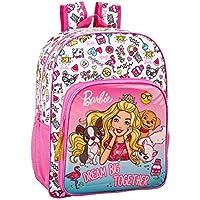 5e91b4065c Barbie Celebration - Zaino per la scuola per bambini, 330 x 140 x 420 mm