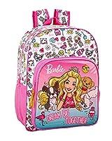 01392317f3 Barbie Celebration - Zaino scolastico per bambini, 330 x 140 x 420 mm,  colore: Rosa