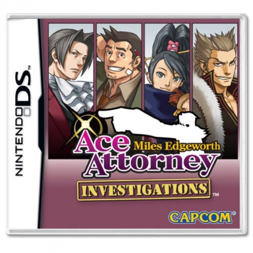 Ace Attorney: Miles Edgeworth Investigations [UK Import]