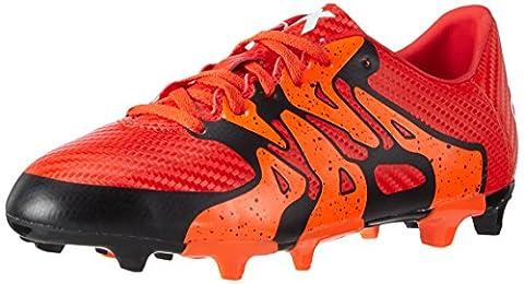 adidas Performance X15.3 FG/AG, Jungen Fußballschuhe, Rot (Bold Orange/Ftwr White/Solar