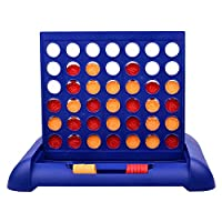rethyrel Connect 4 Game Strategy Board Games Classic Grid Board Game 4 Counters Game Line Up 4 Game Househole Party Game for Boys and Girls