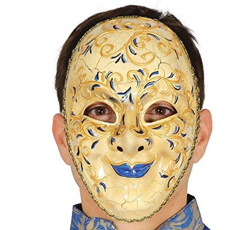 Guirca maschera veneziana marhese marchesa carta pesta adulto 2573