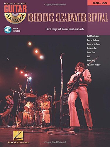 Creedence clearwater revival guitare+CD: 63 (Hal Leonard Guitar Play-Along)