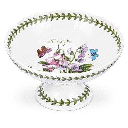 Botanic Garden Porzellan, mit gewelltem Rand, 18 cm, Schüssel mit Fuß, Mehrfarbig, Farbe (Botanic Garden Schüssel)