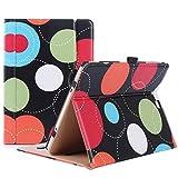 ProCase Samsung Galaxy Tab S2 9.7 Tasche - Leder Stand Folio Tasche für Galaxy Tab S2 Tablette (9,7 Zoll, SM-T810 T815 T813) -Kreise