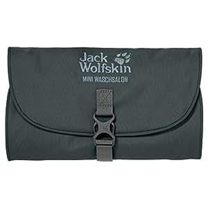 Jack Wolfskin Kulturbeutel Mini Waschsalon, Greenish Grey, 26 x 15 x 1.5 cm, 0.70 Liter, 86150-6037