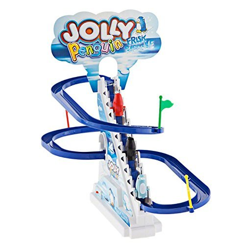 Funny Jolly Penguin Battery Operated Race Toy