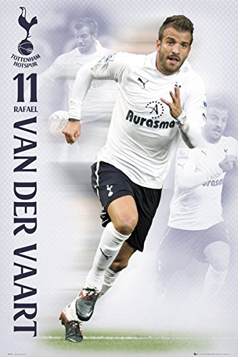 Herr Rafael Van Der Vaart-Tottenham Hotspur-Poster, 61 x 91 Cm/Poster (Rafael Van)
