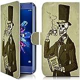 KARYLAX Etui Portefeuille Universel M [IMP-KJ19] pour Smartphone Polaroid Phantom 5