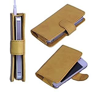StylE ViSioN Pu Leather Pouch for Karbonn A9+