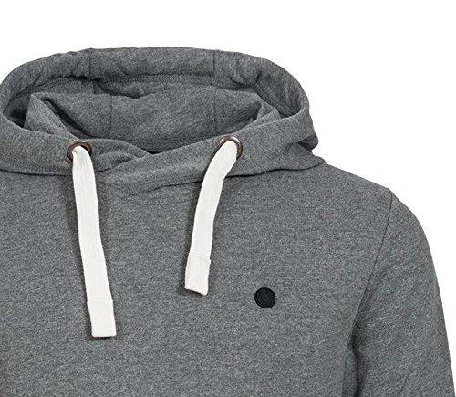 Solid Herren Kapuzenpullover | SALE | Hoody Pramsu Sweatshirt mit Kapuze Longsleeve Hoodie Light Grey