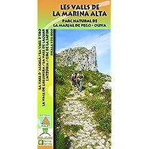 Le Valls de la Marina Alta. Parc Natural de la Marjal de Pego – Oliva. Escala 1:20.000. Editorial Piolet.