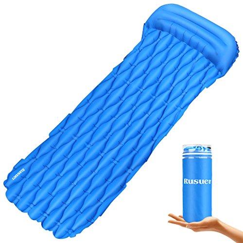 Isomatte, aufblasbare Matratze, aufblasbare Luftmatratze mit Einer kompakten Größe, Ultraleichte, Wasserdichte Isomatte für: Camping,Wandern, Reisen Oder am Strand