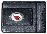 NFL Leather Money Clip Cardholder
