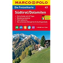 MARCO POLO Freizeitkarte Südtirol, Dolomiten (MARCO POLO Freizeitkarten)