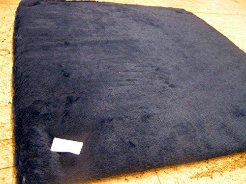KosiPet® Selbstheizende Thermo Luxuxhaustier-Hunde & Katze-Matten mit Faserkissen und Wärmedämmung. In 2 Größen in verschiedenen Farben erhältlich (MEDIUM, NAVY BLUE FUR) (Blue-luxus-hund-bett)