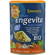Marigold Engevita Yeast With B12 125 g (Pack of 3)