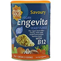 Engevita Savoury Yeast With B12 125 g (Pack of 3)