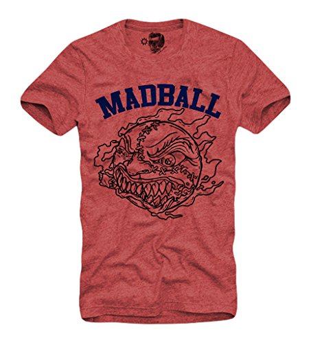 E1SYNDICATE MADBALL T-SHIRT S/M/L/XL HARDCORE EMMURE BORN FROM PAIN RED