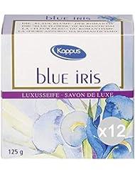 Lot 12Kappus savon Gr.125Blue Iris Soin et nettoyage du corps