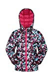Mountain Warehouse Seasons Kinder wasserdicht Gefütterte Jacke - Isolierter Winterjacke, wasserabweisend, Seitentaschen - Ideal zum Wandern, Schule leuchtendes Pink 140 (9-10 Jahre)