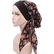 Biback Pañuelo la Cabeza Turbante Mujer Apagado Tapa para quimio, pérdida de Pelo, Sombrero