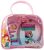 Disney Princess Girls 20 Piece Hair Accessories Kit with Hand Bag