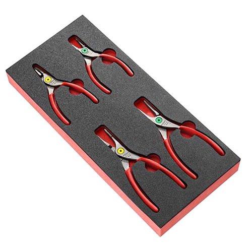 Module mousse 4 pinces pour Circlips® Facom MODM.PCSNPB
