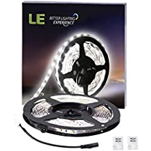 LE Tira LED Blanco frío 5m 300 LED 300lm/m no impermeable (Blanco 6000K)