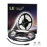 LE 12VDC LED 5M Streifen 300lm/4.8W pro Meter, 6000K kaltweiß, 300 Stück 3528 LEDs led strip Lichtleiste Lichtband led band