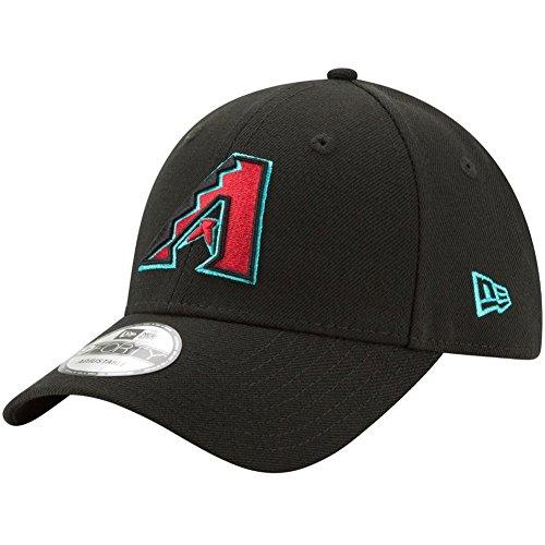 New Era Herren 9Forty Arizona Diamondbacks Kappe, Schwarz, OSFA -