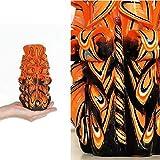 Geschenkidee paar Geschenk für ein verliebtes paar Weihnachtsgeschenk für ein paar Heimdekoration Bastelkerze Orange Schwarz Design dekorative kerze Tischmitte Personalisiertes geschenk für männer Originelles frauengeschenk