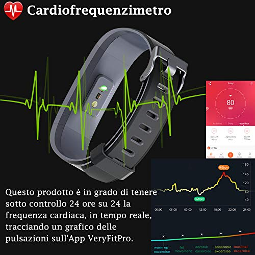 Zoom IMG-2 willful orologio fitness tracker uomo