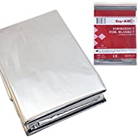 10x Premium Foil Survival Blanket, Reflective & Thermal Safety, Emergency First Aid