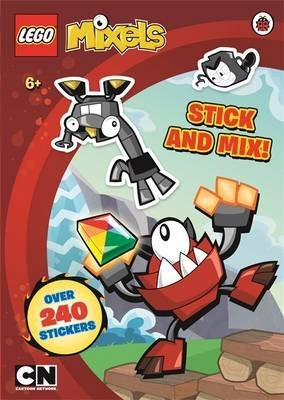 [(Lego Mixels: Stick and Mix Sticker Activity Book)] [ Puffin Books ] [October, 2014]