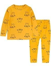DRESS_start Niñas Pijama Para Los Niños,De AlgodóN 100% 2-8 AñO,