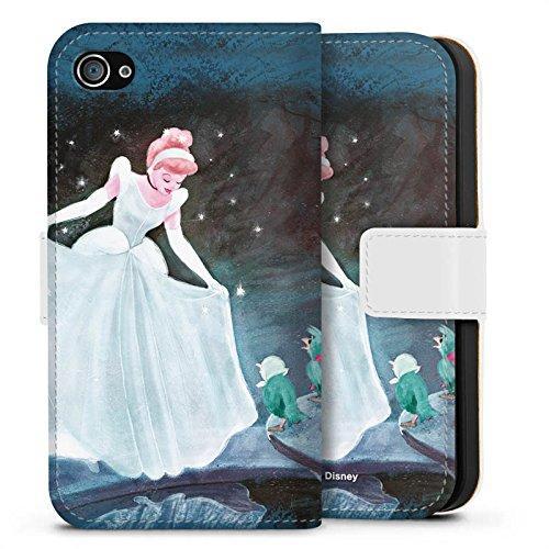 Apple iPhone 7 Plus Hülle Tough Case Schutzhülle Disney Cinderella Merchandise Geschenke Sideflip Tasche weiß